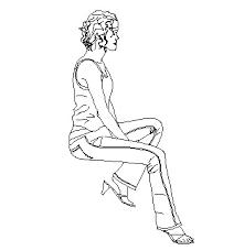 persona seduta dwg archibit generation s r l libreria cad persone donna seduta 02