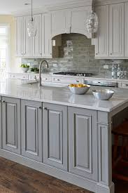 what color backsplash with gray cabinets 44 gray kitchen cabinets or heavy light