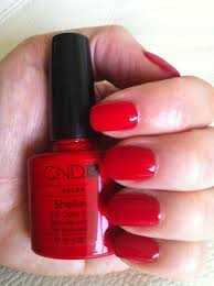 cnd brisa gel nail extensions with shellac wildfire u2013 june 2012