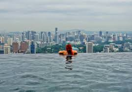 that time i refused to leave the marina bay sands pool