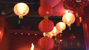 luck lanterns 4k happy new year greetings animation 3d style
