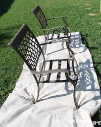 paint for patio painting patio furniture well groomed home