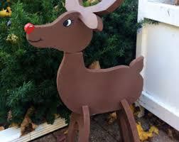 reindeer decor etsy