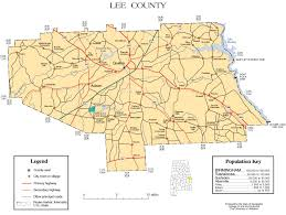 County Map Ga Maps Of Lee County