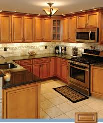 Kitchen Pictures With Oak Cabinets Kitchen Room 2017 Backsplashes For Black Granite Countertops