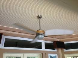 escape 68 in brushed nickel indoor outdoor ceiling fan hton bay escape 68 in indoor outdoor brushed nickel ceiling fan
