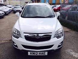 vauxhall antara 2 2 cdti 163 exclusive 4wd diesel manual white