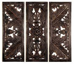 wall decor wood carving floral wood carved wall panel decorative