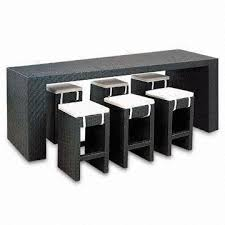 rectangle pub table sets aluminum wicker bar furniture rectangle table with stool within