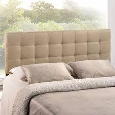 Linen Upholstered King Headboard Amazon Com Modway Lily Upholstered Tufted Fabric Headboard King