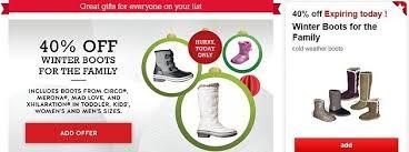target s boots 40 winter boots target cartwheel offer totallytarget com