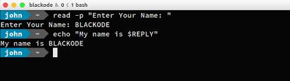 read command linux shell blackode medium