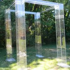 chuppah dimensions handmade the acrylic wedding structure chuppah mandap gazeebo