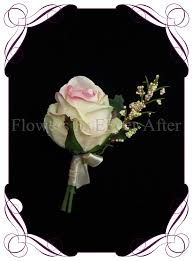 Boutonniere Flower Cream Pink Gents Boutonniere Flowers For Ever After U2013 Artificial