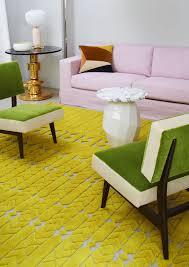 jardin interieur design contemporary rug patterned wool jute india madhavi