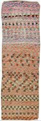 Multicolored Rug Moroccan Vintage Runner Rug Bb5898 By Doris Leslie Blau