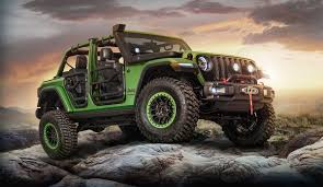 2018 jeep wrangler interior fully revealed mopar reveals customized all new 2018 jeep wrangler at la auto with