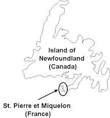 map of st and miquelon canadainfo provinces and territories exceptions