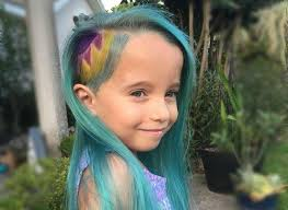 hair cut pics for 6 year girls mom shamed for 6 year old s unicorn hair has some parenting