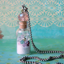 glass bottle necklace images How to make a glass vial necklace rings and things jpg