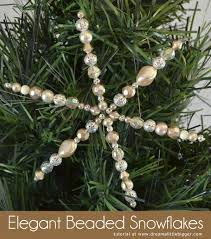 Easy Beaded Christmas Ornaments - 18 best beaded decs images on pinterest christmas crafts beaded