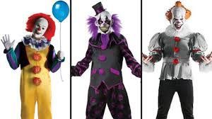 Halloween Express Costumes Pennywise Clown Costumes Poised Halloween Costume Trend