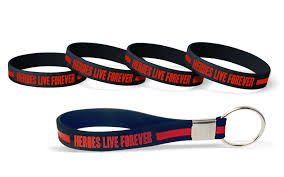 red silicone bracelet images What does custom thin red line wristbands represent png