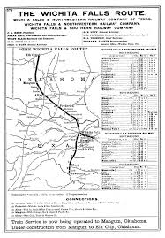 Route 40 Map by Falls U0026 Northwestern Railway Company Tex Map Showing Route In
