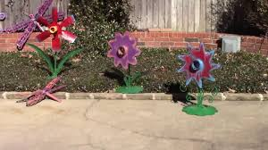 upcycled yard ideas diy garden metal sculptures by raymond