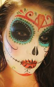 65 best day of the dead faces jennifer images on pinterest