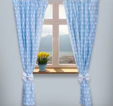 luxury ba room window curtains in matching pattern for nursery