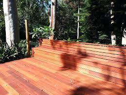 builders of spectacular timber decks deck bench seating brackets