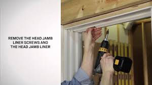 how to replace balance and jamb liner for narroline windows youtube