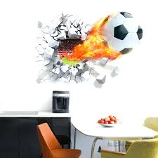 wall ideas wall art stickers wall art stickers for bedroom wall baby wall art stickers ebay personalised blasting football soccer ball wall art stickers wall decal for decoration non toxic environmental kitchen wall art