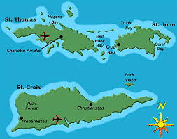 map of us islands and islands map of the usvi my heritage my culture i