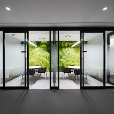 Interior Glass Sliding Doors Pc350 Architectural Walls Toronto