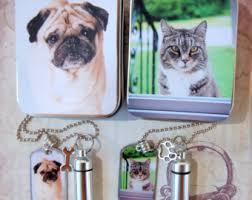 art glass dog ring holder images Pet ashes etsy jpg