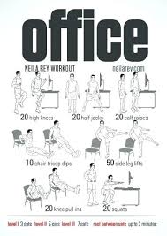 Exercise At The Office Desk Desk Chair Exercises Medium Size Of Desk Chair Exercises