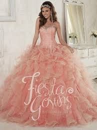coral pink quinceanera dresses quinceanera golden treasures prom pageant bridal