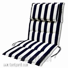 and black stripe outdoor wicker chairs seat cushion sets with head