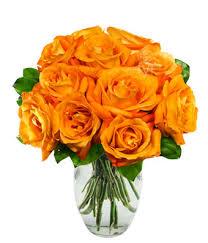 orange roses one dozen orange roses at from you flowers