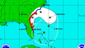Map Of Florida And Bahamas by Is It Safe To Travel To Florida Latest Hurricane Matthew Updates