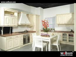 Vinyl Wrap Kitchen Cabinets China Vinyl Wrap Italian Style Antique White Kitchen Cabinet