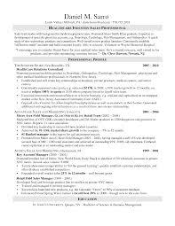 Sample Resume For Medical Representative by Resume Sales Rep Resume Example