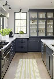 Blue Grey Kitchen Cabinets Home Interior Design Ideas - Blue painted kitchen cabinets