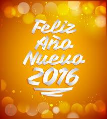 imagenes feliz año nuevo 2016 feliz ano nuevo 2016 happy new year 2016 spanish text stock image