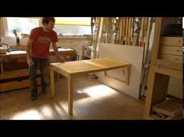 folding table for small balconies etc youtube