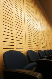 Westlake Reed Leskosky Decorative Acoustic Wall Panel Allen Theatre By Westlake Reed