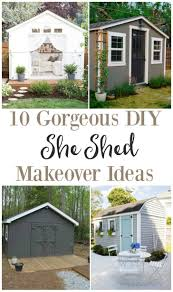 She Sheds Backyards Fascinating 10 Gorgeous Diy She Shed Makeover Ideas