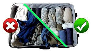 army hack packing suitcase baggage like a pro for travel